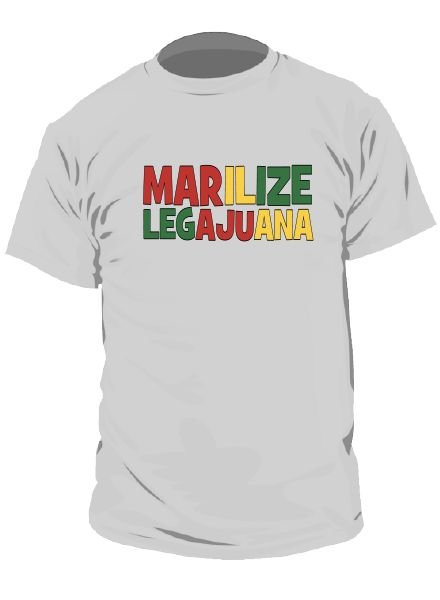 DOPE ON COTTON T-shirt Marilize Legajuana