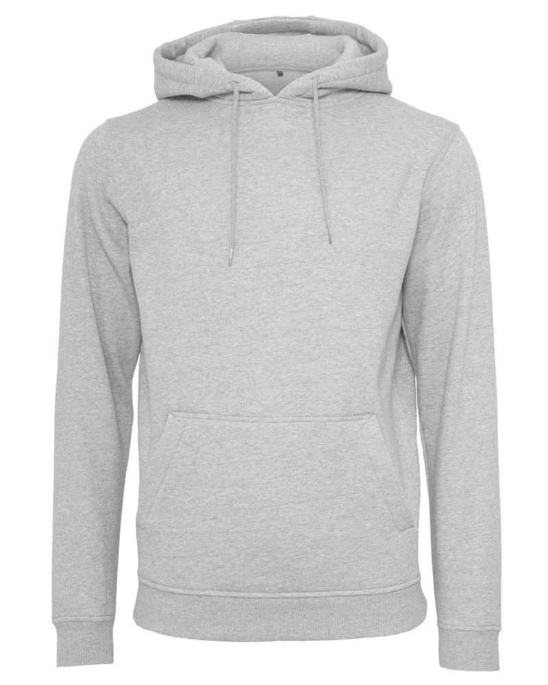 DOPE ON COTTON Hoody BYB011 heavy hoody grey