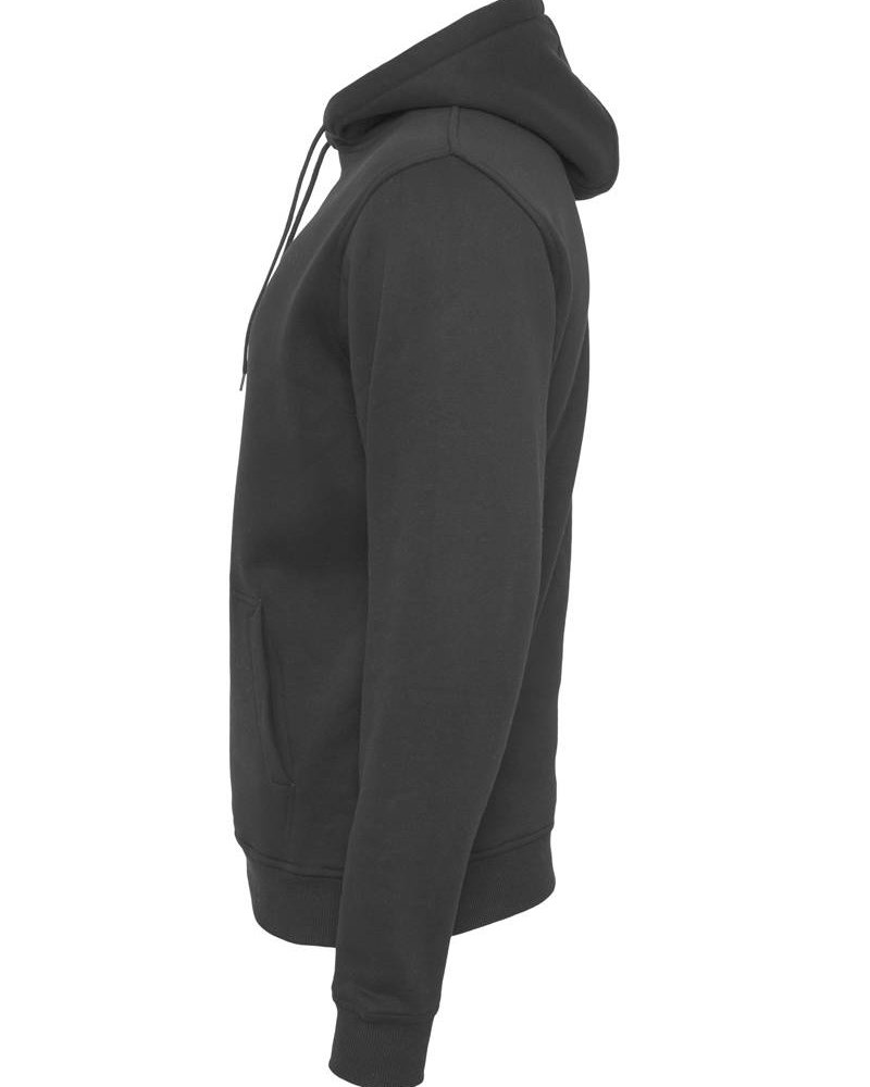 DOPE ON COTTON Hoody BYB011 heavy hoody black