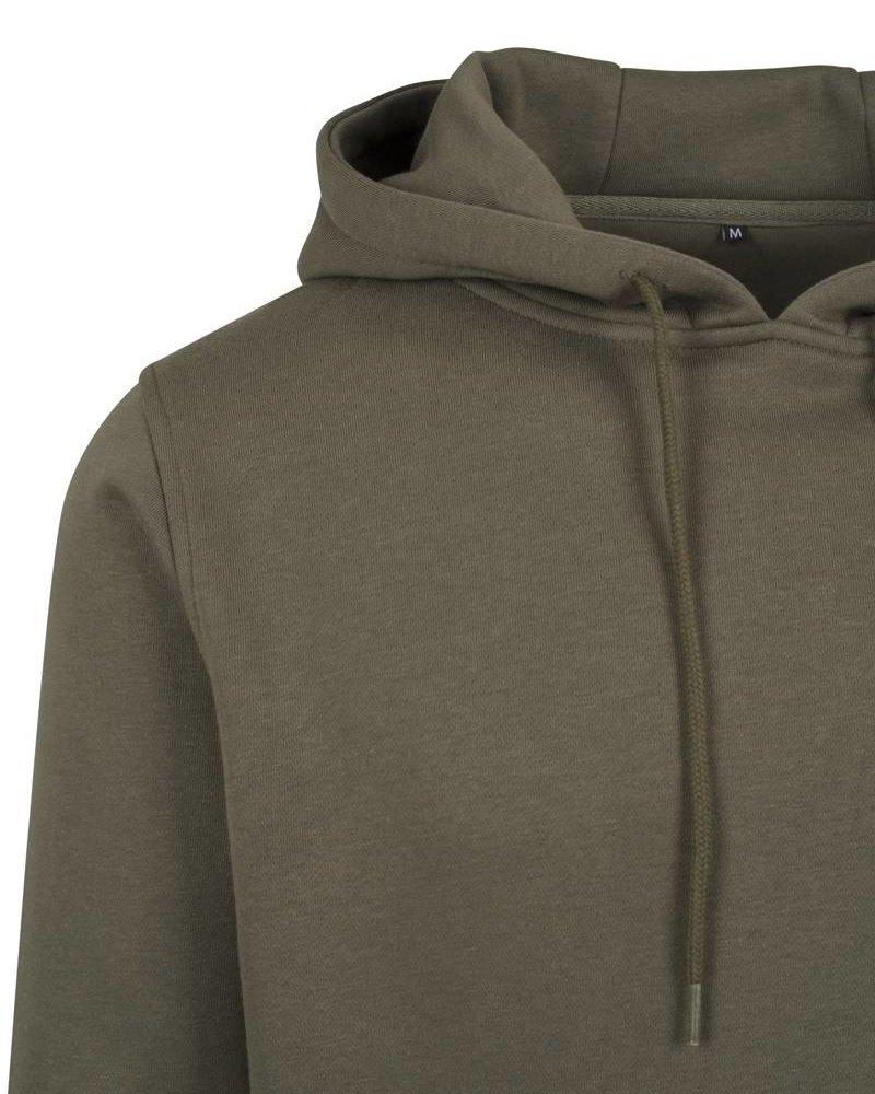 DOPE ON COTTON Hoody BYB011 heavy hoody olive
