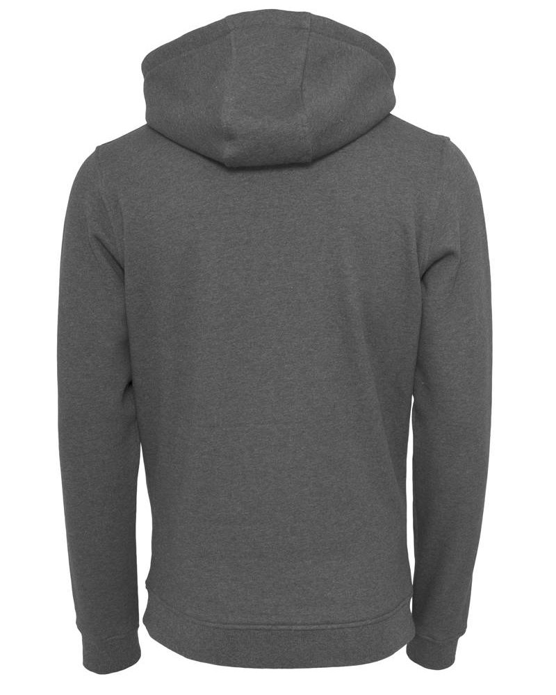 DOPE ON COTTON Hoody BYB011 heavy hoody charcoal
