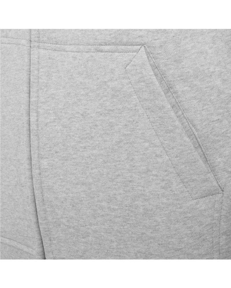 DOPE ON COTTON Hoody BYB012 zipper light grey