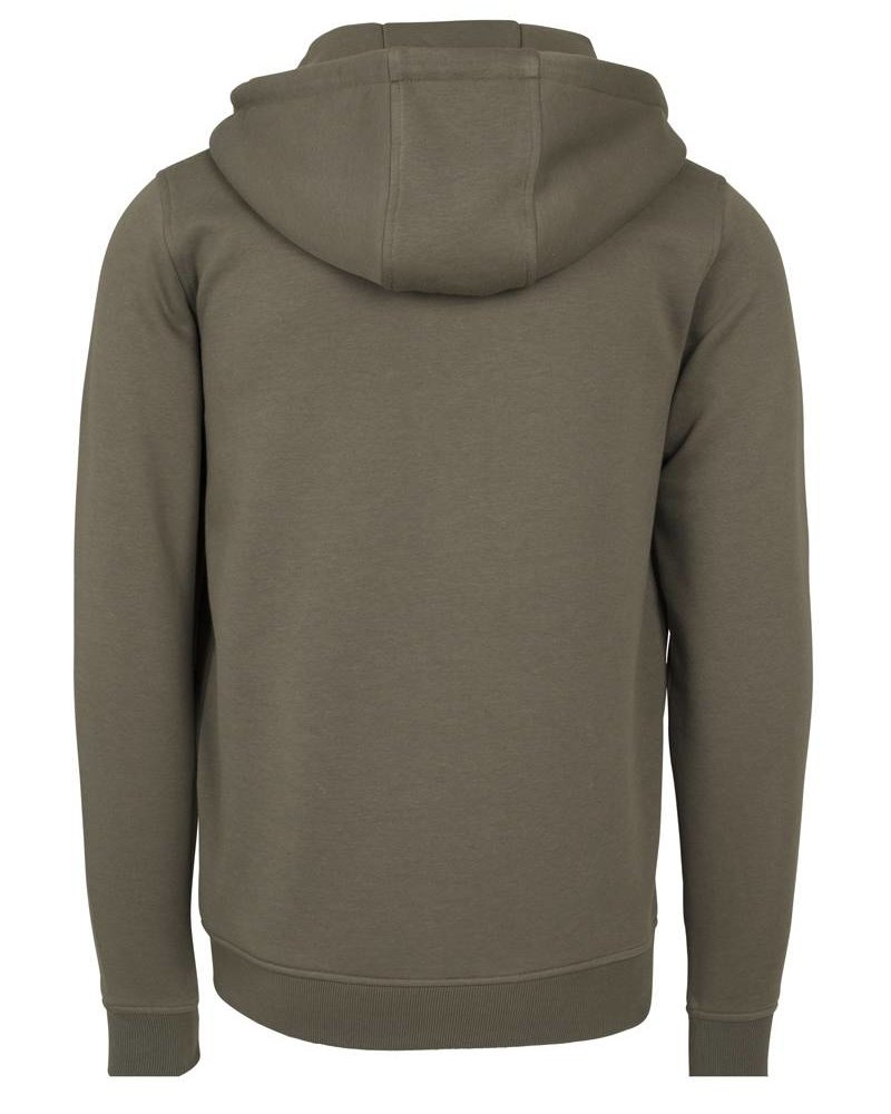 DOPE ON COTTON Hoody BYB012 zipper olive