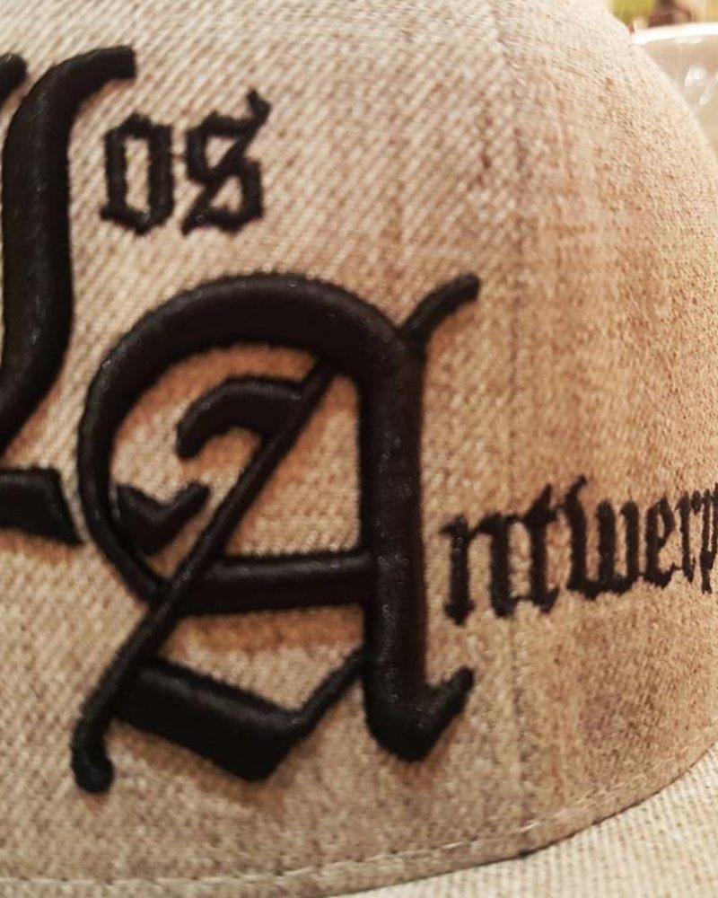 AW ANTWERP Los Antwerp snapback 3d embroidery LA