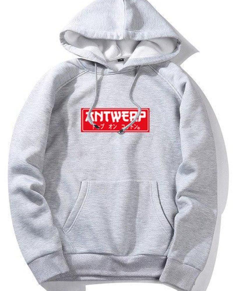 AW ANTWERP Hoodie Antwerp jap style