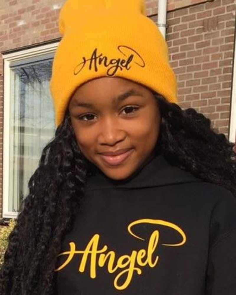 Angels Gold beanie