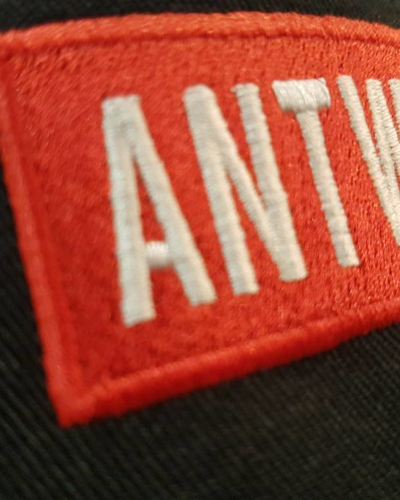 AW ANTWERP Cargo cap ANTWERP redbox blck