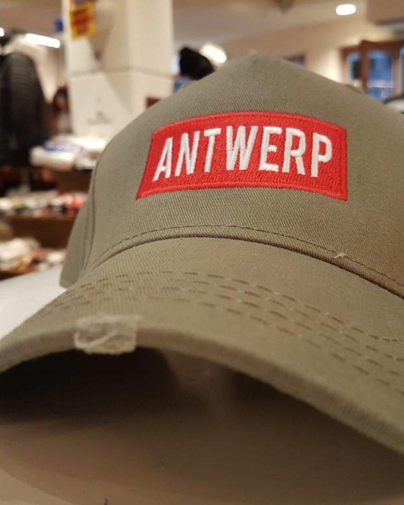 AW ANTWERP Cargo cap ANTWERP redbox green