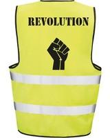 DOPE ON COTTON Gele hesjes REVOLUTION