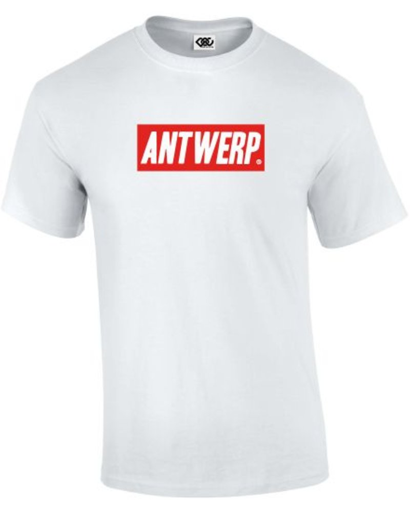 DOPE ON COTTON  Basic ANTWERP red box  T-shirt