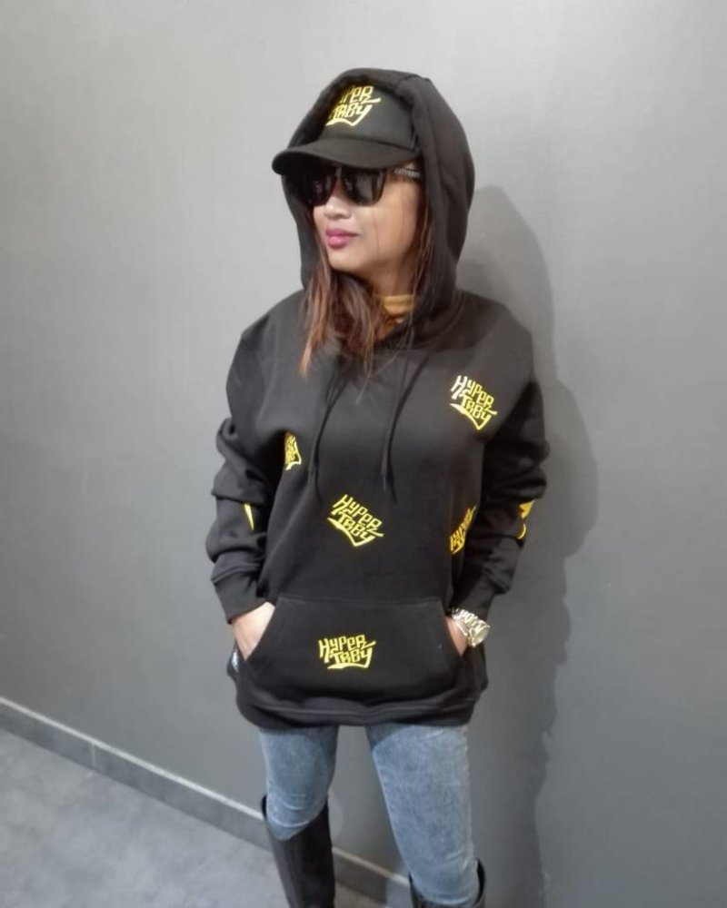 DOPE ON COTTON Premium hoodie HTRY  allover