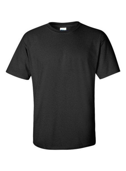 GILDAN Basic T-shirt zwart