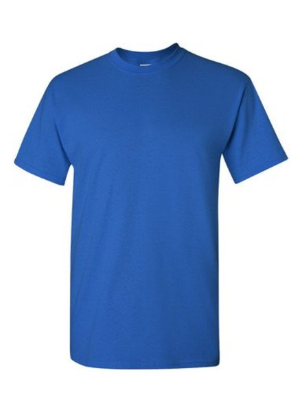 GILDAN Basic T-shirt royal blue