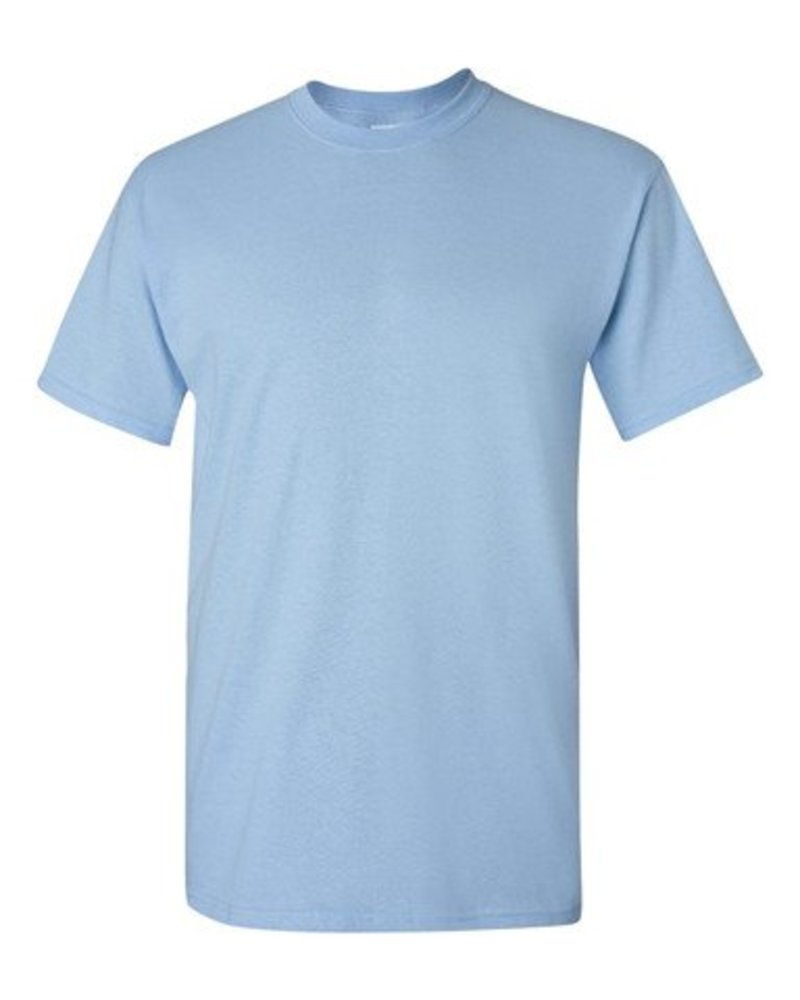 GILDAN Basic T-shirt light blue