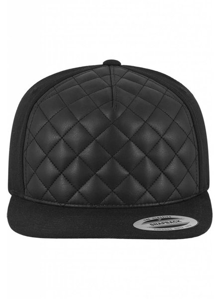 DOPE ON COTTON Diamond Quilted Snapback