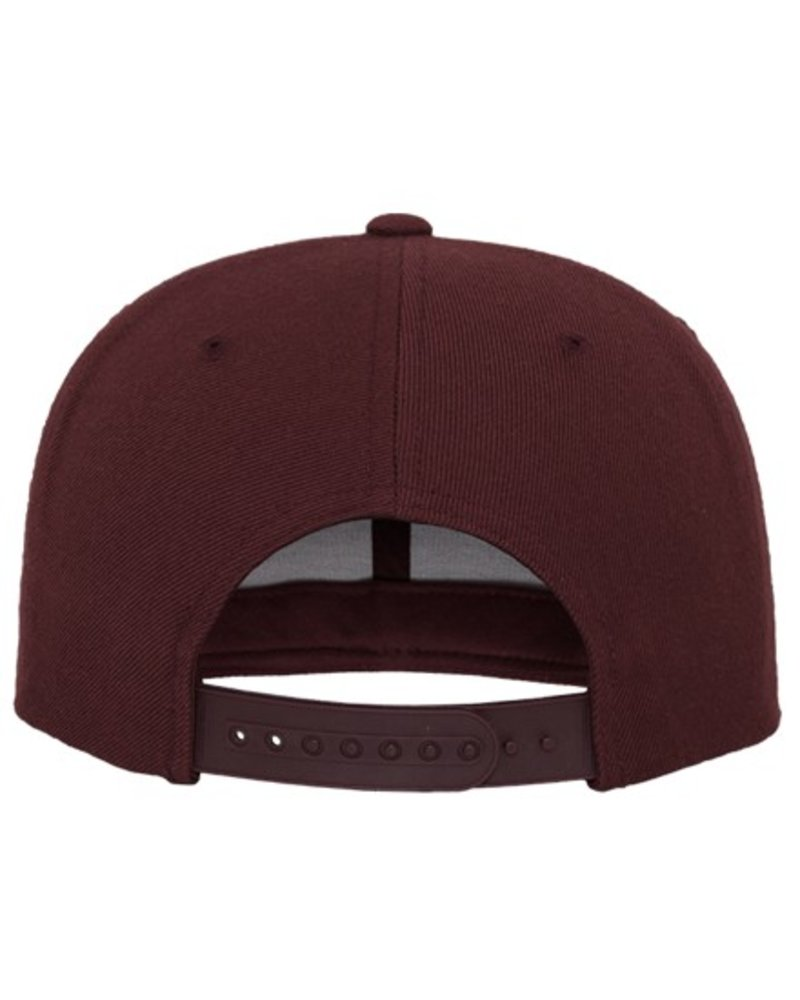 FLEXFIT by YUPOONG Classic Snapback Maroon