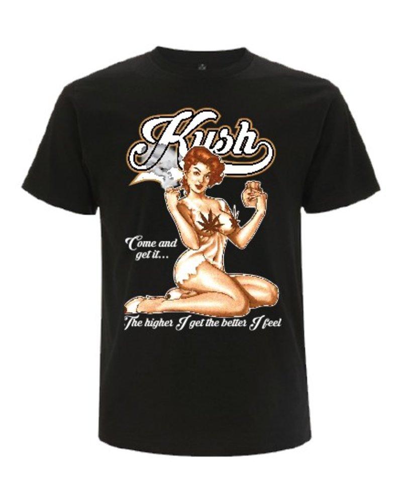 DOPE ON COTTON DOC Kush Girl Organic T-shirt