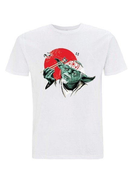 DOPE ON COTTON DOC Yoda Karate Organic T-shirt