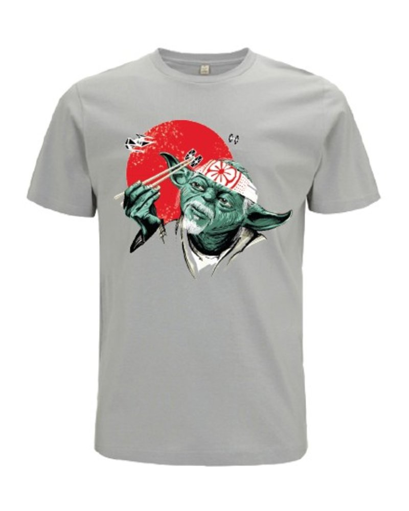 DOPE ON COTTON DOC Yoda Karate Organic T-shirt