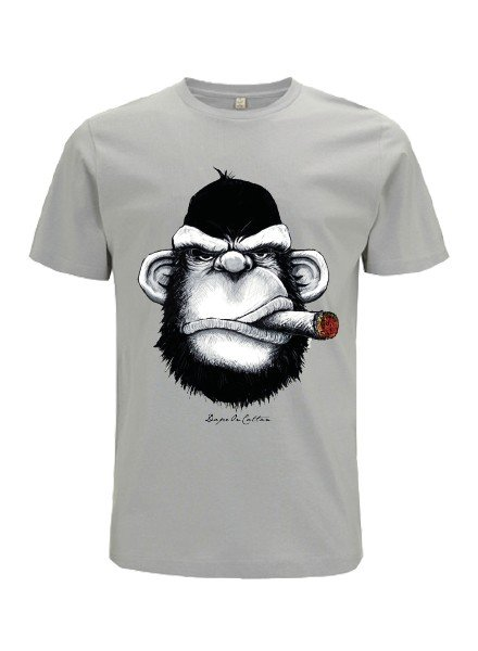 DOPE ON COTTON DOC Monkey Cigar Organic T-shirt
