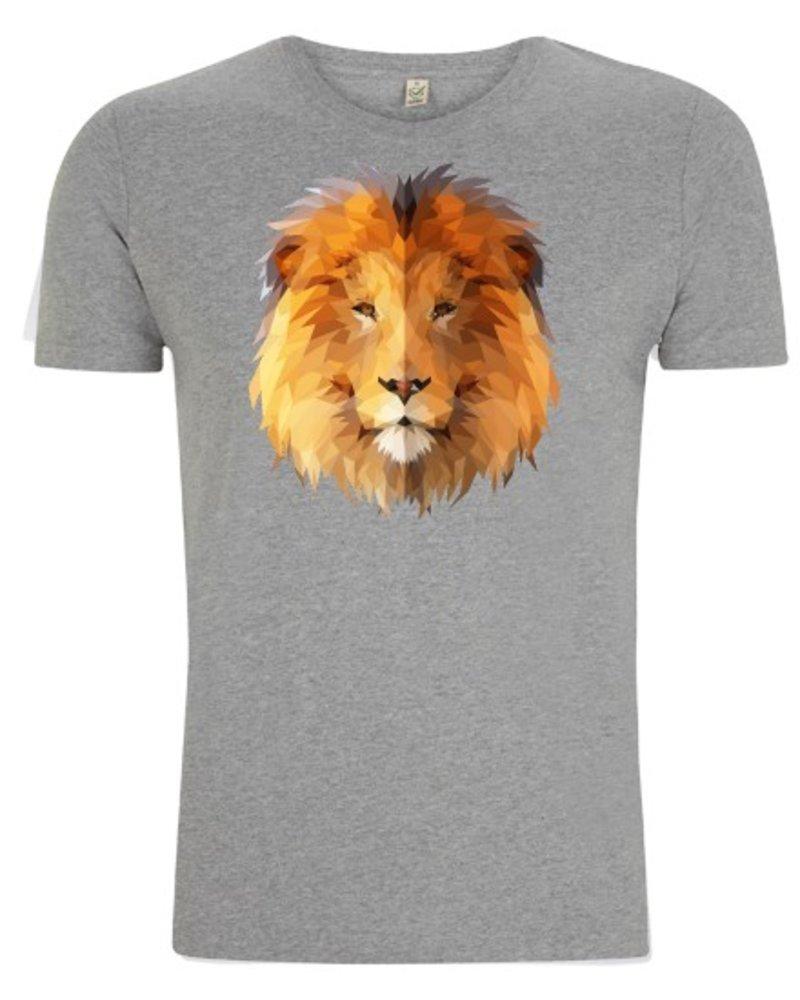 DOPE ON COTTON DOC Polygon Lion Organic T-shirt