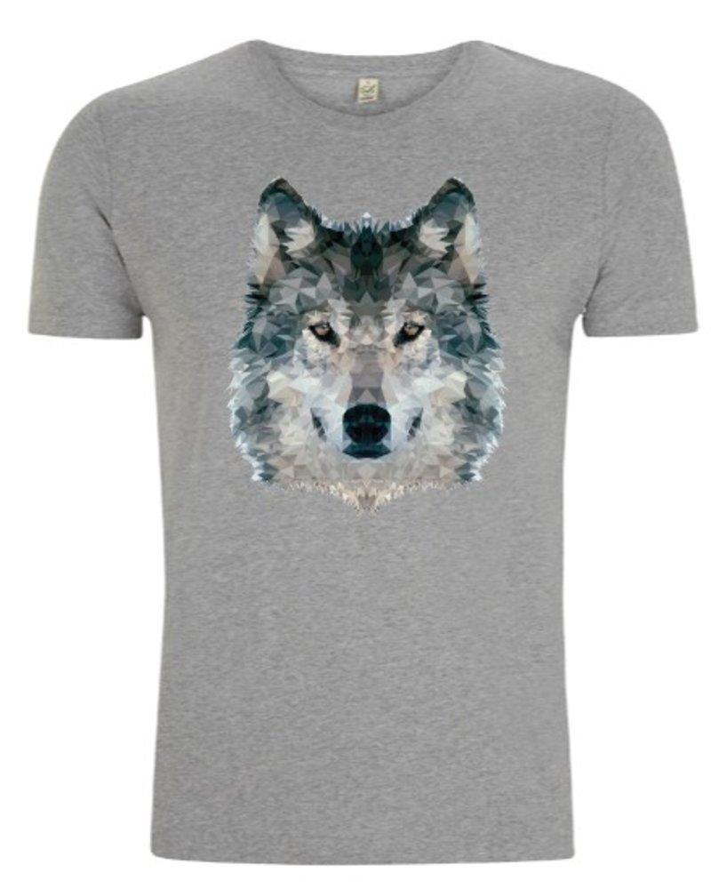 DOPE ON COTTON DOC Polygon Wolf Organic T-shirt