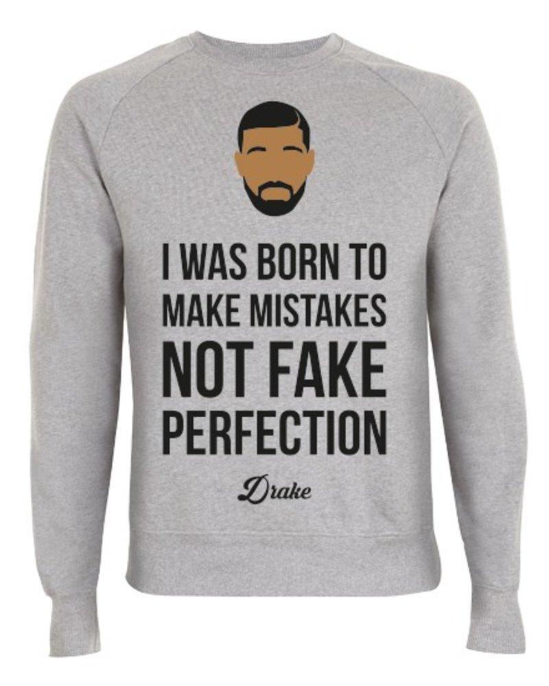 DOPE ON COTTON DOC Flat design Drake Organic Crewneck Sweater