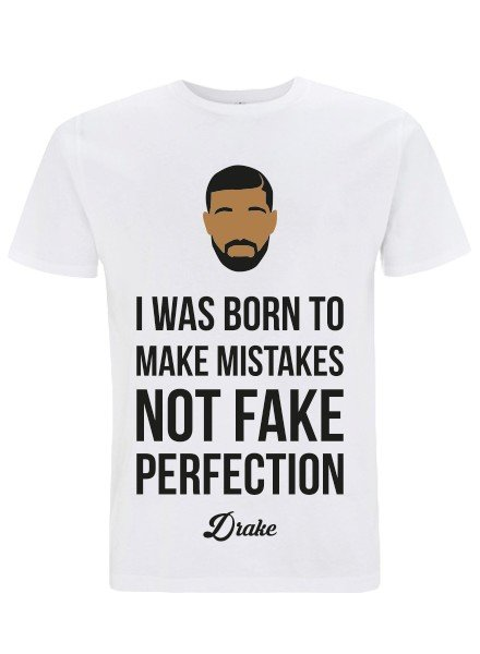 DOPE ON COTTON DOC Flat design Drake Organic T-shirt