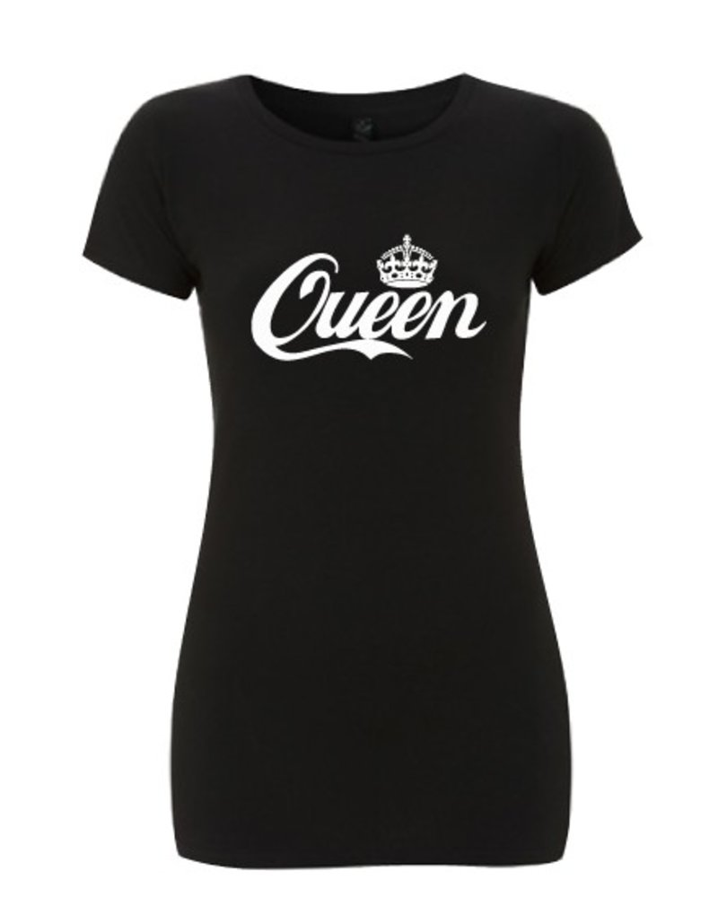 DOPE ON COTTON QUEEN front T-shirt