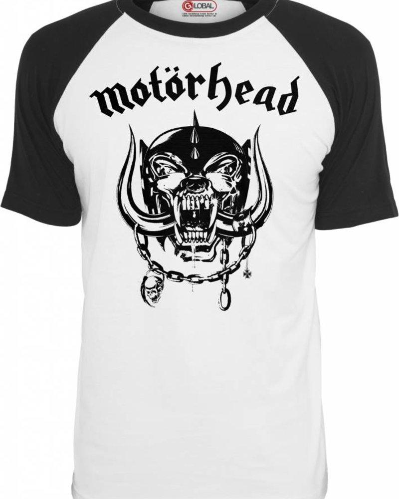 DOPE ON COTTON Motörhead Everything Louder Raglan Tee