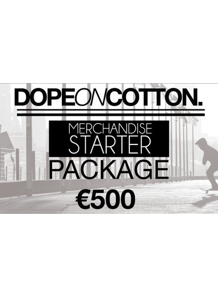 DOPE ON COTTON Merchandise Starter Package 1