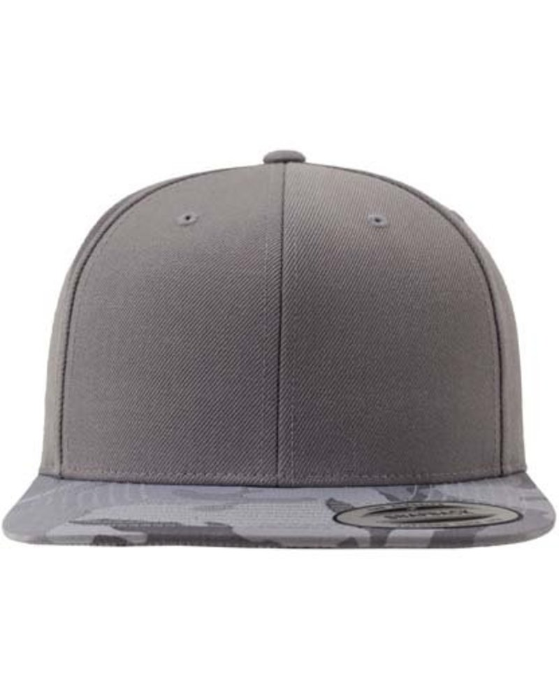 FLEXFIT by YUPOONG Silver Camo Snapback