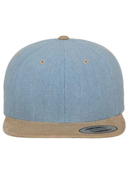 FLEXFIT by YUPOONG Chambray-Suede Snapback