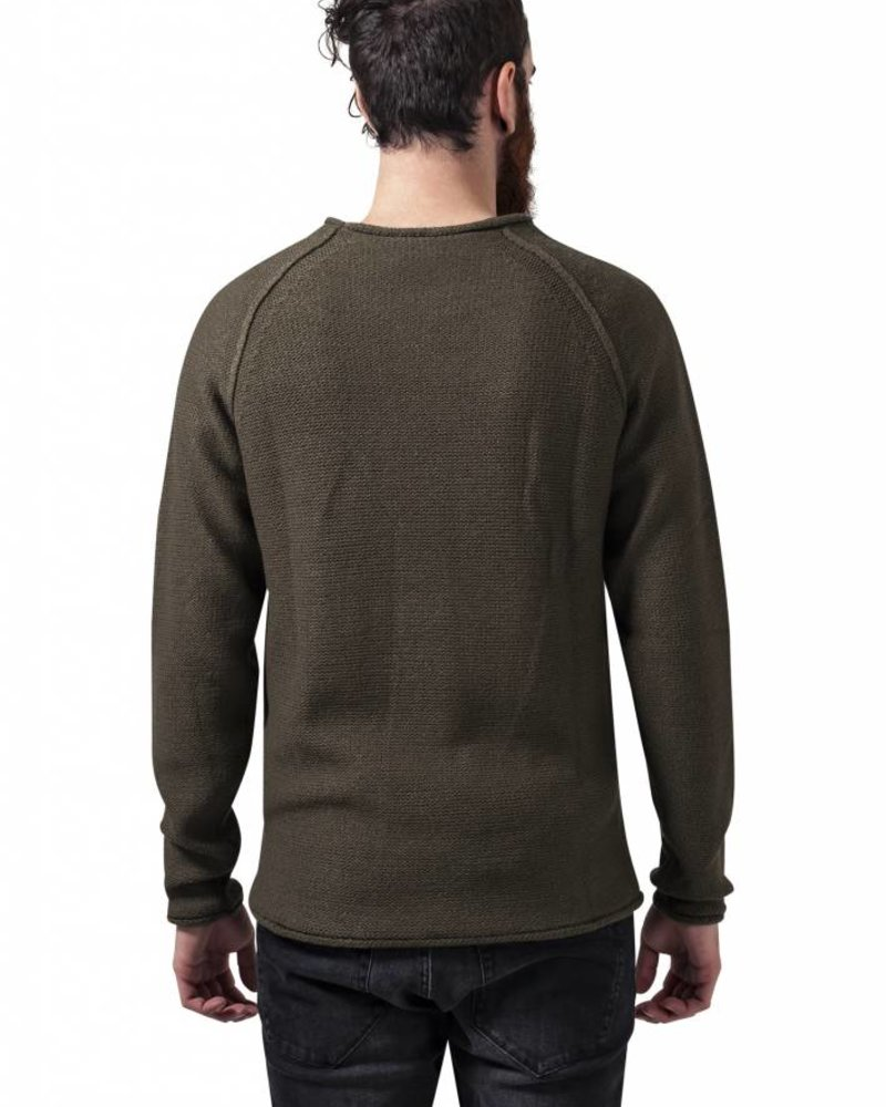 URBAN CLASSICS Raglan Wideneck Sweater
