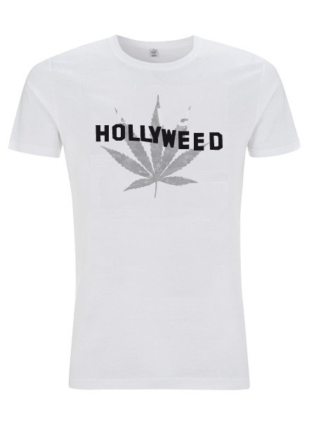 DOPE ON COTTON Hollyweed leaf  T-shirt