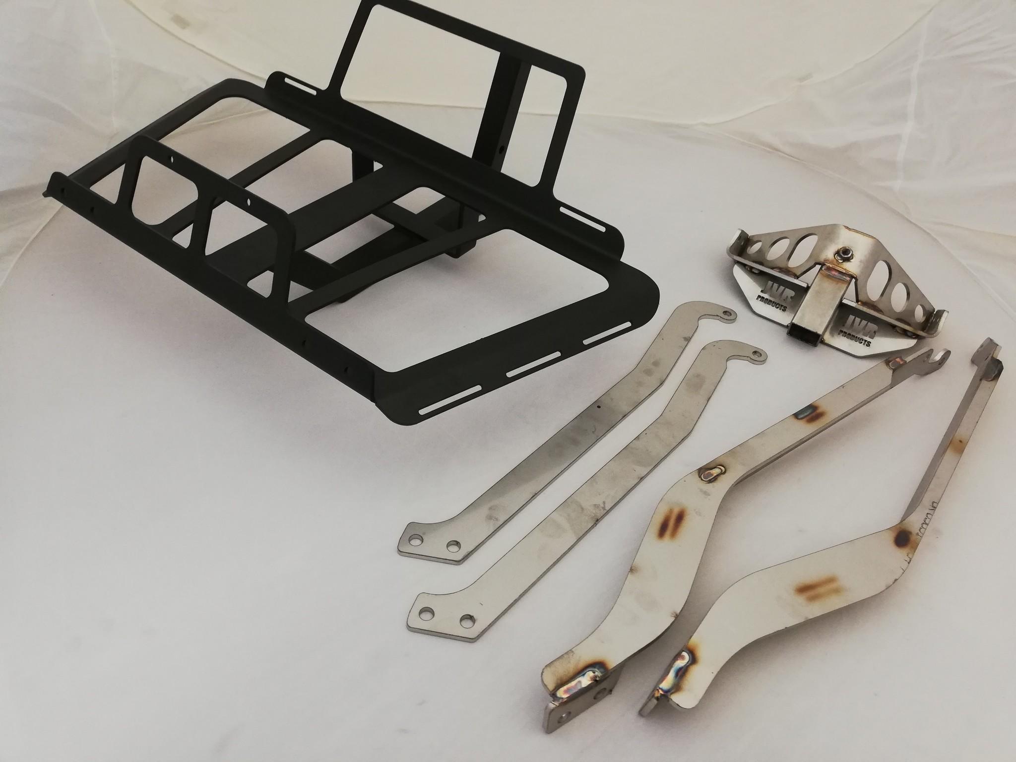 JVR Products Porte-bagages à fixation sans attelage GL1800 model 2018 Noir mat