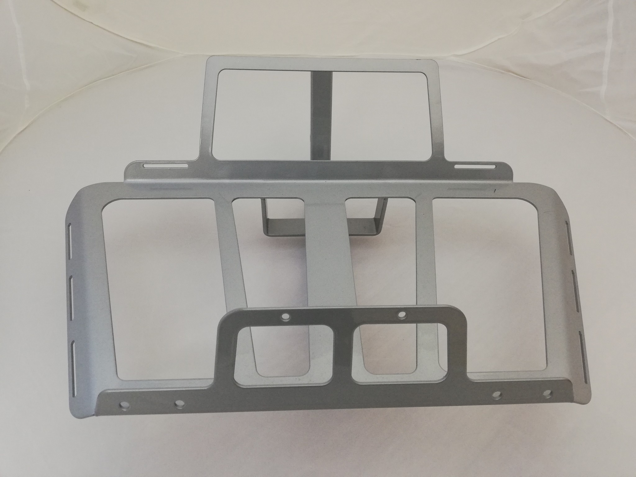 JVR Products Slide-in-Träger GL 1800 model 2018 silbergrau