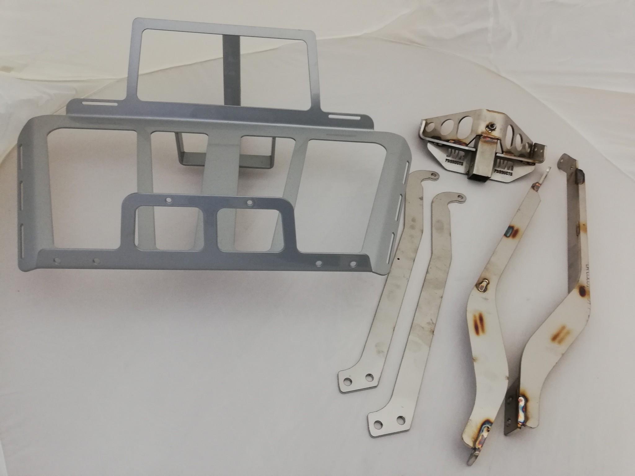 JVR Products Edelstahl-Heckträger GL1800 model 2018 Silbergrau