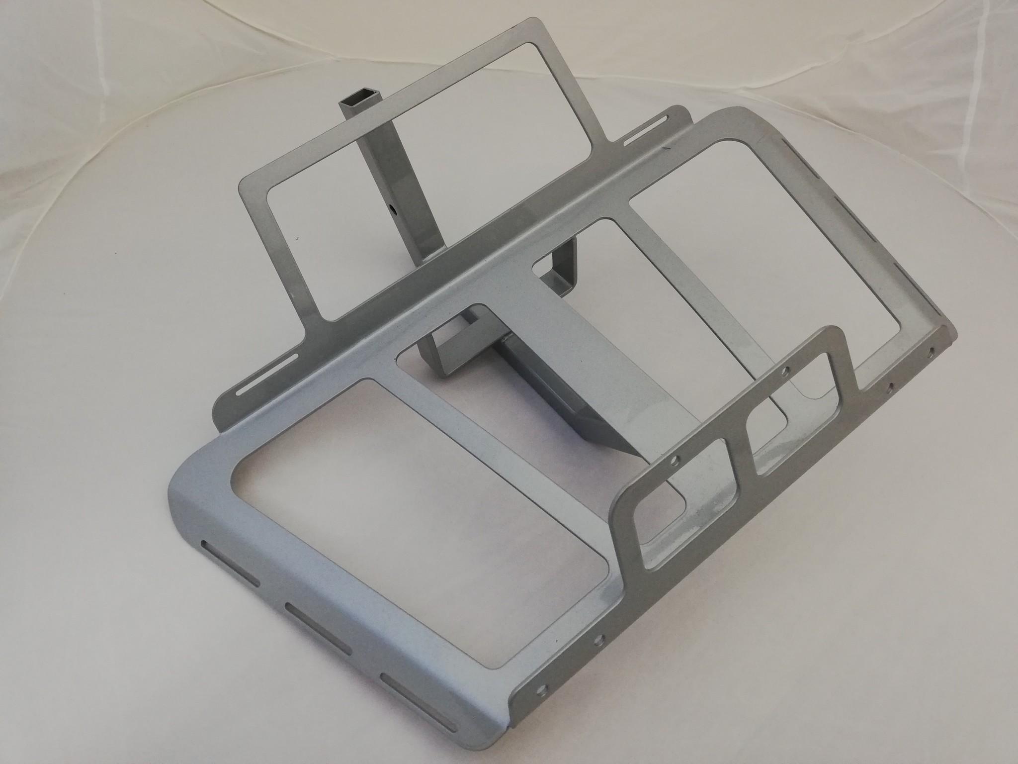 JVR Products Onderbouwrek GL1800  model 2018 zilvergrijs