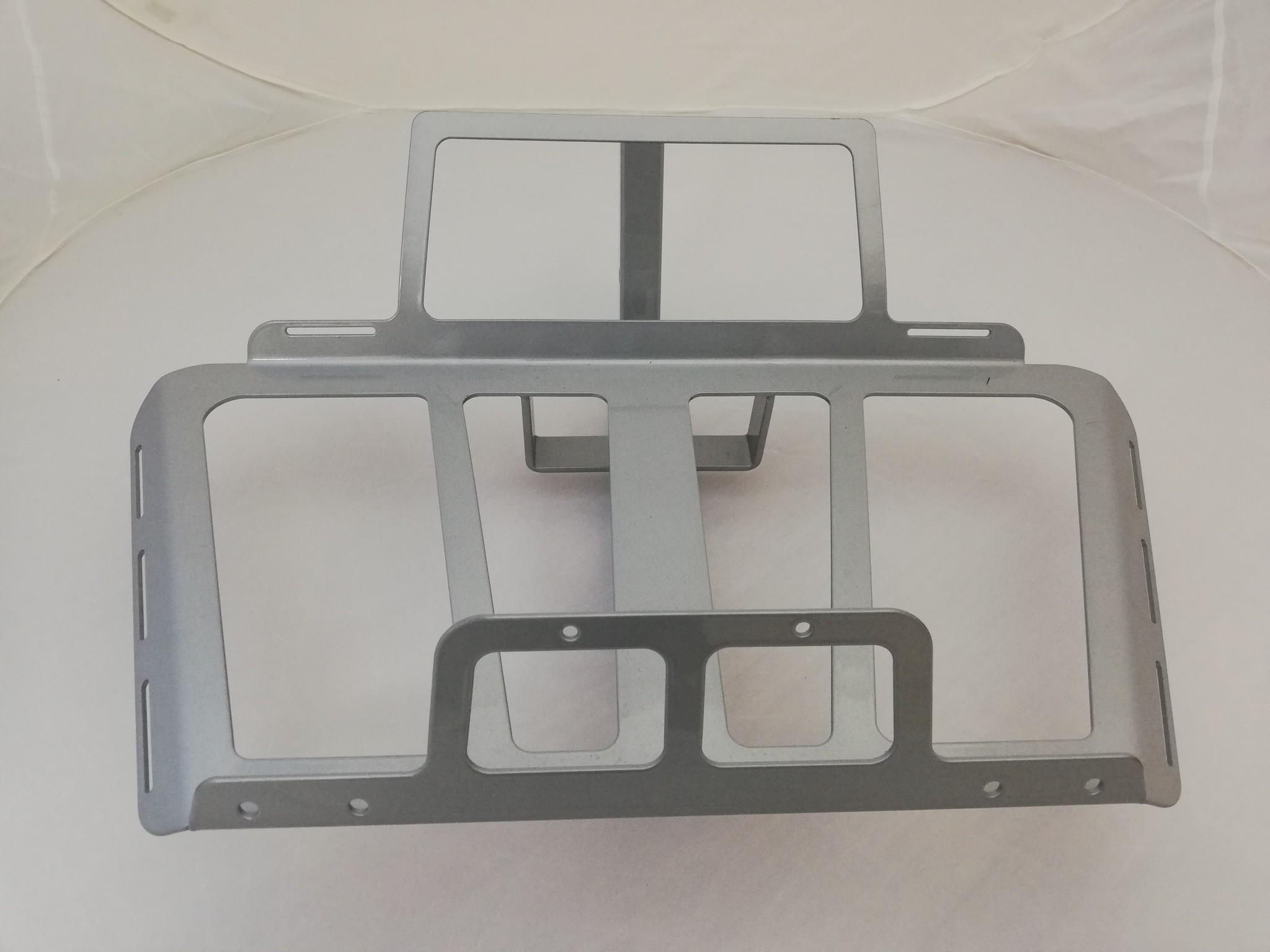 JVR Products Porte-bagages à fixation sans attelage GL1800 model 2018 gris argenté
