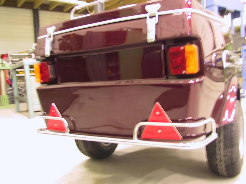 JVR Products Rail de protection arrière pour remorque Freewheel international