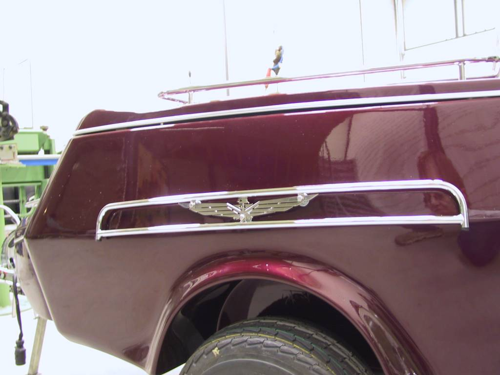 JVR Products Side Guard Trailer