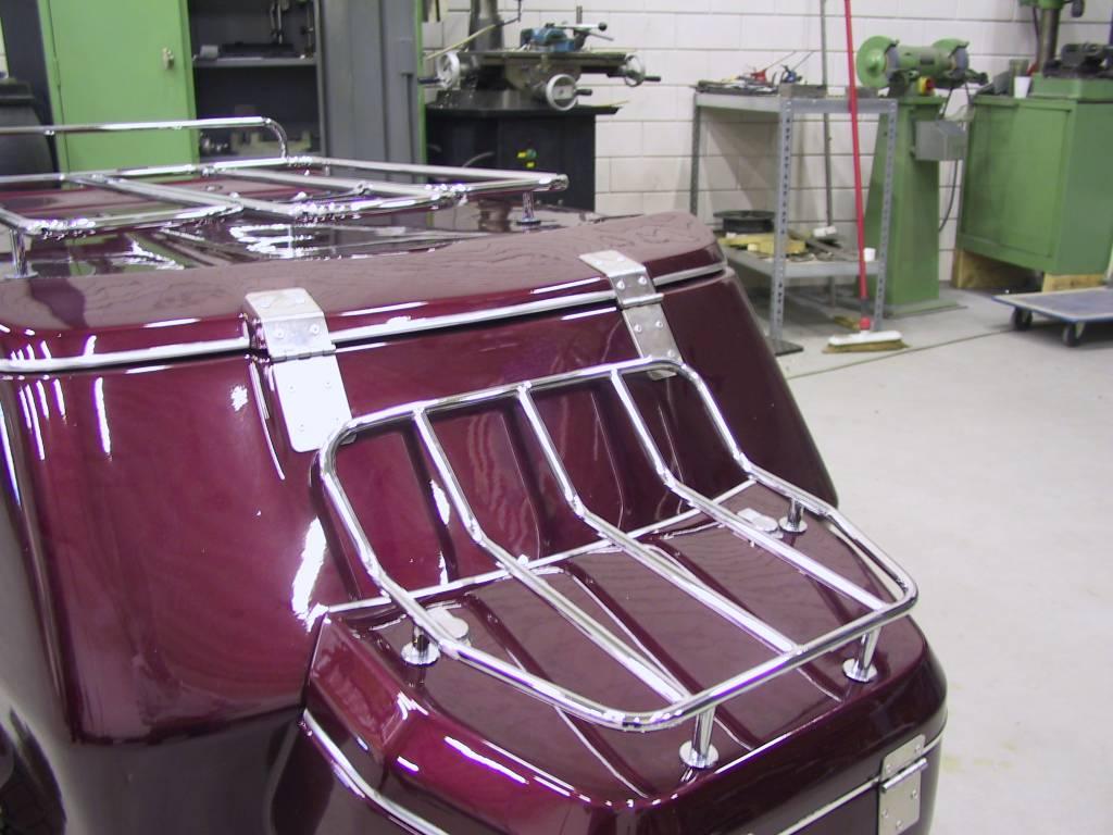 JVR Products Porte-bagages pour coffre de timon