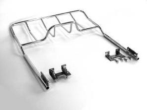 JVR Products Stainless Steel Bottom Mounted Rack Honda Goldwing GL1500