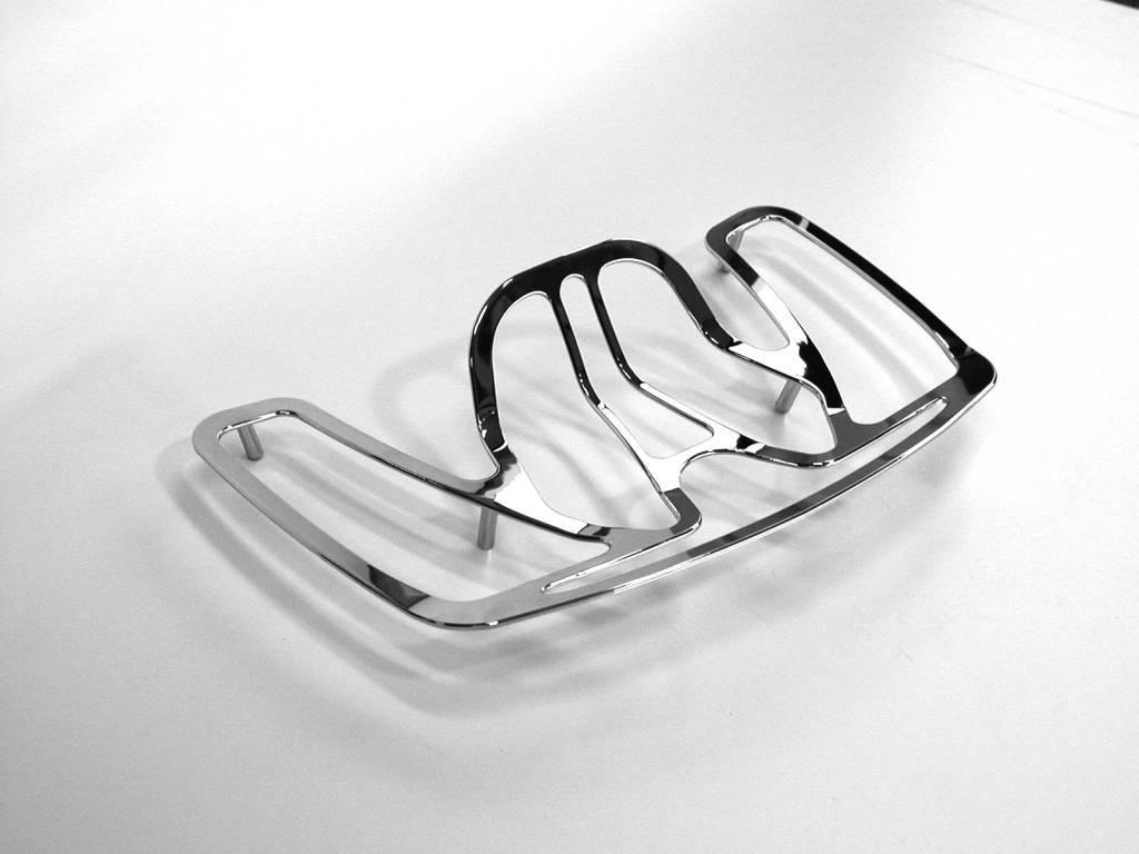 JVR Products Topcase Rack Honda Goldwing GL1500 Model Flat