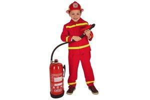 Kostuum Brandweer Rood