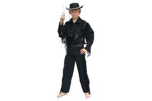 Kostuum Cowboy Zwart