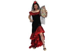 Kostuum Flamenco Lady