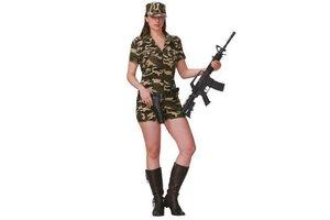 Kostuum Leger Vrouw