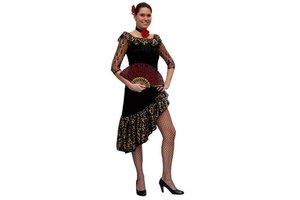 Kostuum Spanish Black